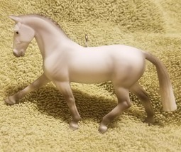 Custom Made Breyer Grey Warmblood Horse Stablemate Christmas Holiday Orn... - $18.00