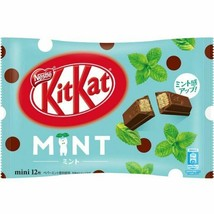 Japanese Kitkat Nestle Chocolates Mint favor 12 bars From Japan - $14.28