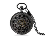 C white pocket mechanical watch for women and men steampunk necklace clock pendant thumb155 crop