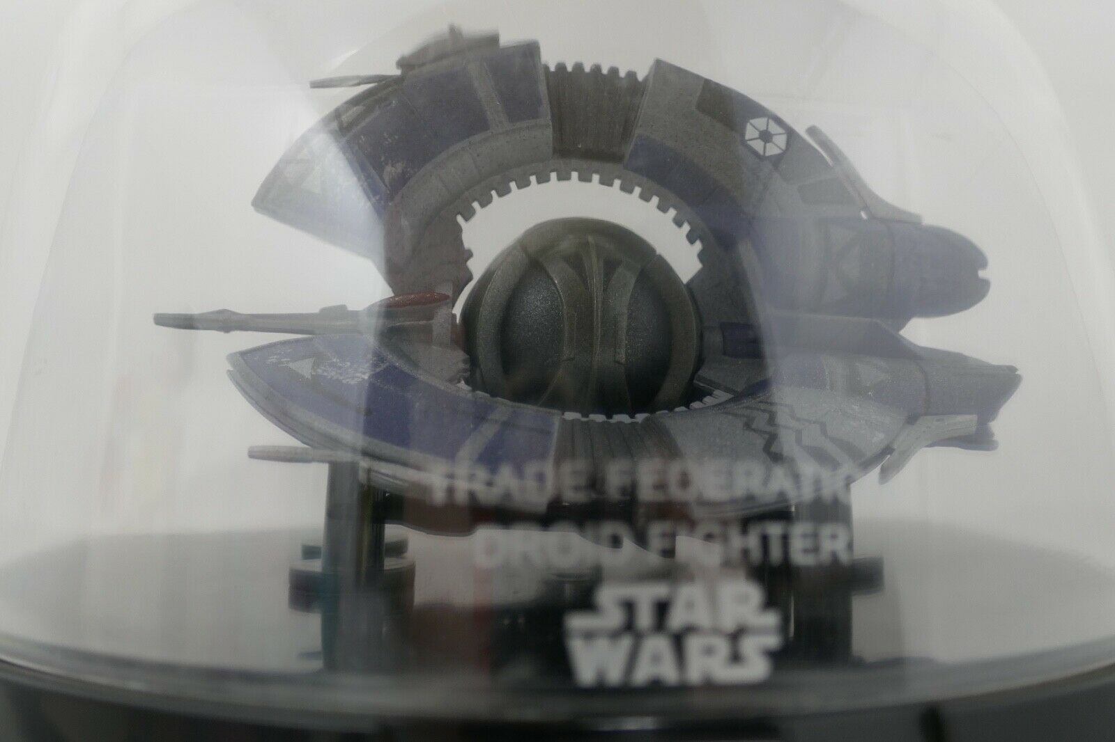 Hasbro Star Wars Trade Federation Droid Fighter Titanium Large Die Cast Vehicle