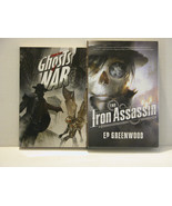 THE IRON ASSASSIN AND GHOSTS WAR - HARD COVER BOOK - FREE SHIPPPING! - $9.50