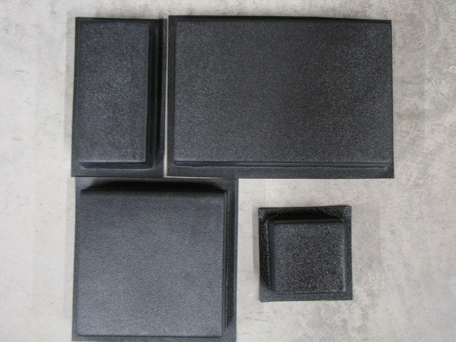 #4006K SUPPLY KIT w12 DRIVEWAY PAVER MOLDS MAKES 100s OPUS ROMANO PATTERN PAVERS
