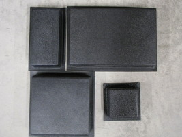 #4006K SUPPLY KIT w12 DRIVEWAY PAVER MOLDS MAKES 100s OPUS ROMANO PATTERN PAVERS image 1