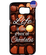 Valentine's Box of Tasty Chocolates Rubber Case Cover Samsung Galaxy Not... - $12.89+