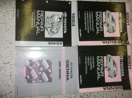2001 Toyota Sienna Service Repair Shop Workshop Manual Set Feo Factory W Lots - $296.98