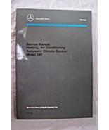 shop manual mercedes service repair w126 book air conditioning heating c... - $158.35