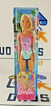 New Mattel Barbie Doll Blonde Wearing Swimsuit Model GHW37 - $15.99
