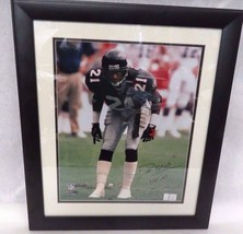 Atlanta Falcons DEION SANDERS Signed Framed 16X20 Certified 2011 Photograph - $133.65