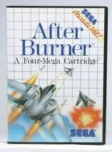 Sega After Burner  (Sega Master, 1988) - $14.85