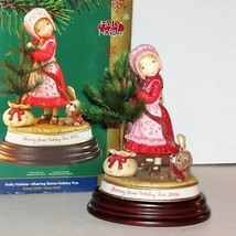 """Holly Hobbie Christmas Figurine 2006 Limited Edition 7"""" Tall American Greetings - $25.99"""
