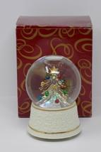 The San Francisco Music Box Company Glass Lighted Tree Waterglobe Oh Tan... - $28.49