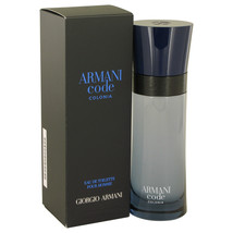 Armani Code Colonia by Giorgio Armani Eau De Toilette Spray 2.5 oz for Men - $68.76