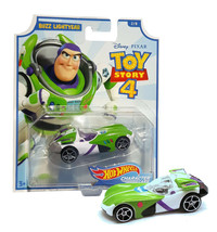 Hot Wheels Toy Story 4 Buzz Lightyear Character Cars 2/8 Mint on Card - $12.88