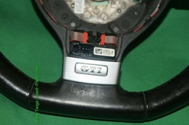 06-09 Volkswagen Rabbit GTi 3 Spoke Leather Steering Wheel w/ DSG Shift Paddles image 2