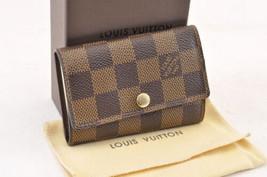Louis Vuitton Damier Multicles 6 Chiavi Case N62630 IV Auth 6515 - $199.90