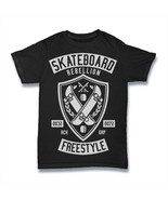 SKATEBOARD T Shirt REBELLION FREESTYLE MEN SIZE S-3XL - $12.53