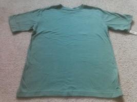 Ladies Cherokee Blarney Green T Shirt Top Size L 10/12 Cotton Short Sleeve NEW - $12.71