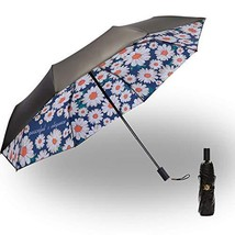 Folding Compact Travel Umbrella Windproof & Waterproof & Sun Block Outdo... - $29.58