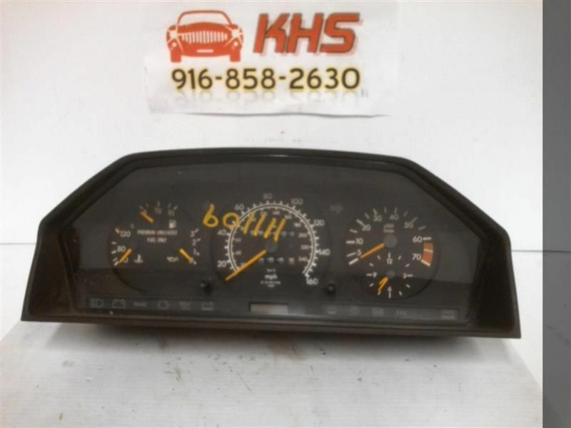 Primary image for Speedometer 124 Type Head Only 300E Fits 92-93 MERCEDES 300E 225501