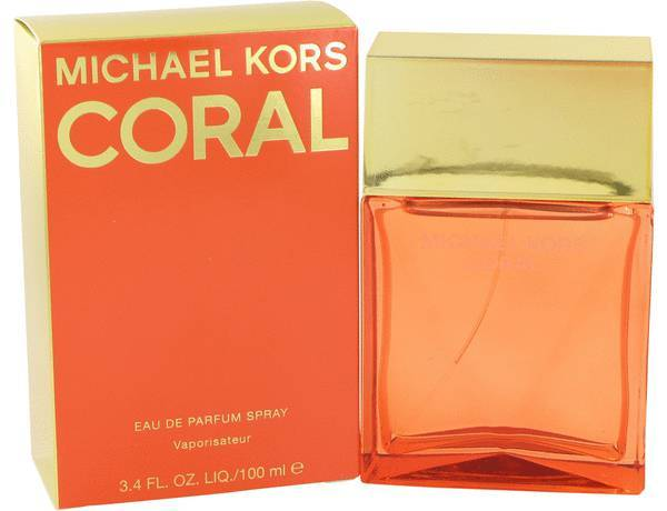 Michael Kors Coral 3.4 Oz Eau De Parfum Spray