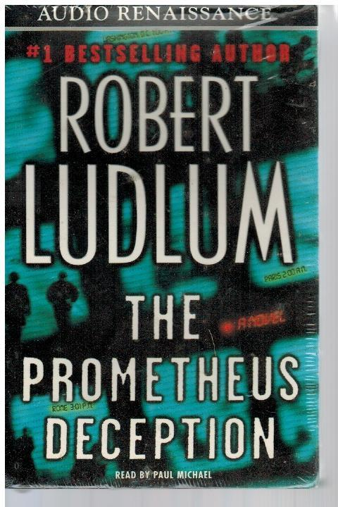 The Prometheus Deception Audio Cassette – Abridged AudioBook by Robert Ludlum