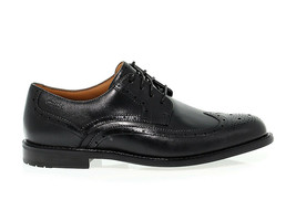 Lace-up shoes CLARKS DORS LI M in brown leather - Men's Shoes - $210.90