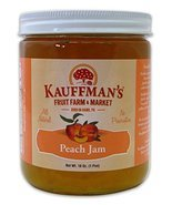 Kauffman's All-Natural Peach Jam, 18 Oz. Jar (Pack of 2) - $32.99