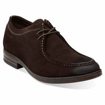 New Clarks Men's Delsin Rise Suede Leather Oxford Shoes Variety Color & ... - $96.99