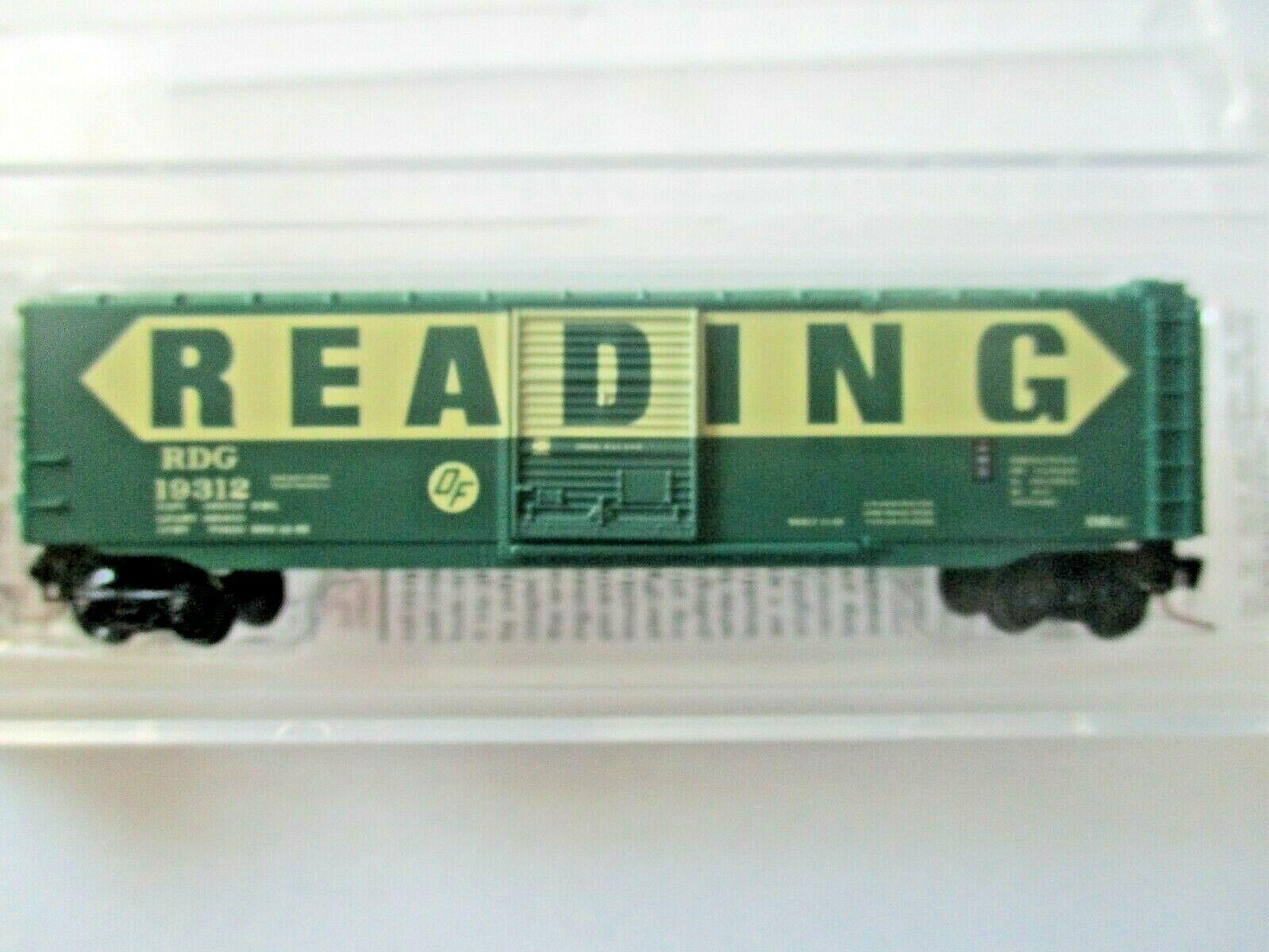 Micro-Trains # 50500461 Reading 50' Standard Boxcar Z-Scale