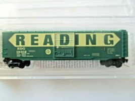 Micro-Trains # 50500461 Reading 50' Standard Boxcar Z-Scale image 1