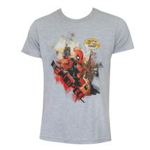 Deadpool Outta The Way Shirt Grey - $19.98+