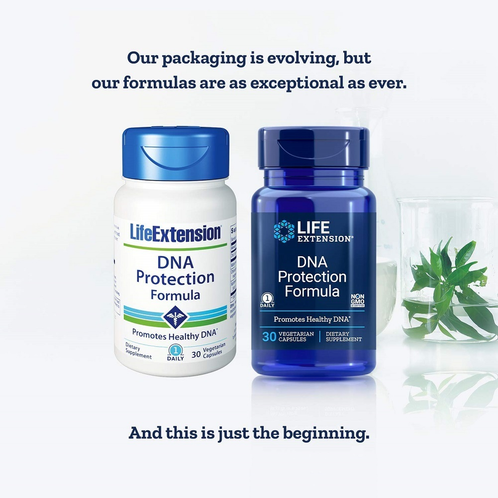 Life Extension DNA Protection Formula, 30 Vegetarian Capsules - $49.42