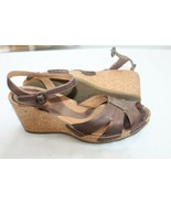 Clarks Artisan Collection Alameda 84285 Leather Sandal  Bronze Brown Siz... - $39.60
