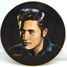 "Bradford Exchange-Elvis Presley, ""Love Me Tender"" Plate-1991 Bradex #84-... - $17.81"