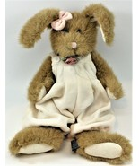 The Boyds Collection Stuffed Plush Bunny Rabbit Off White Romper Free Sh... - $11.87