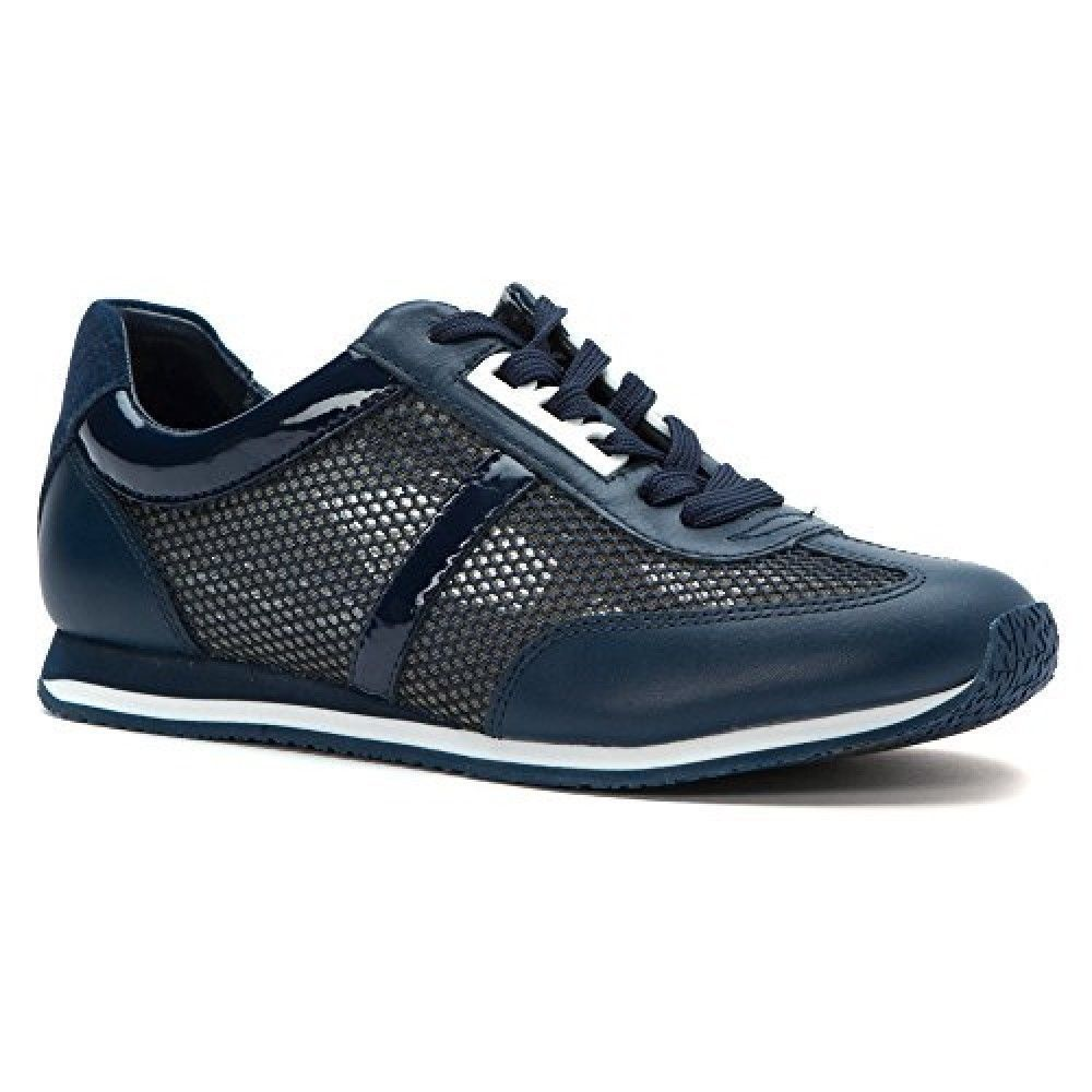 b0f1d99a0fe Michael Kors Maggie Blue Navy Mesh Trainer and 50 similar items. S l1600