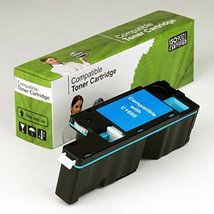 Value Brand replacement for Dell C1660W Cyan Toner (DWGCP) 5R6J0 (1,000 Yield) - $39.89