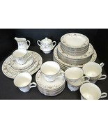 Service For 8 Noritake Dinnerware Set - Adagio #7237 - 42 Pieces - $284.99