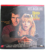 Bird on a Wire on Laserdisc 1990 Mel Gibson and Goldie Hawn Movie - $8.00