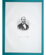 ISAAC ERRETT Ohio Christian Standard Newspaper Editor - 1883 Portrait Print - $19.80