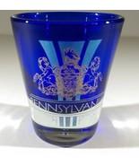 "Pennsylvania State University Cobalt Blue 2.25"" Collectible Shot Glass - $8.42"