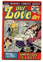 Our Love Story #17 1972-Marvel-romance stories-Crying Bride cover - $31.53