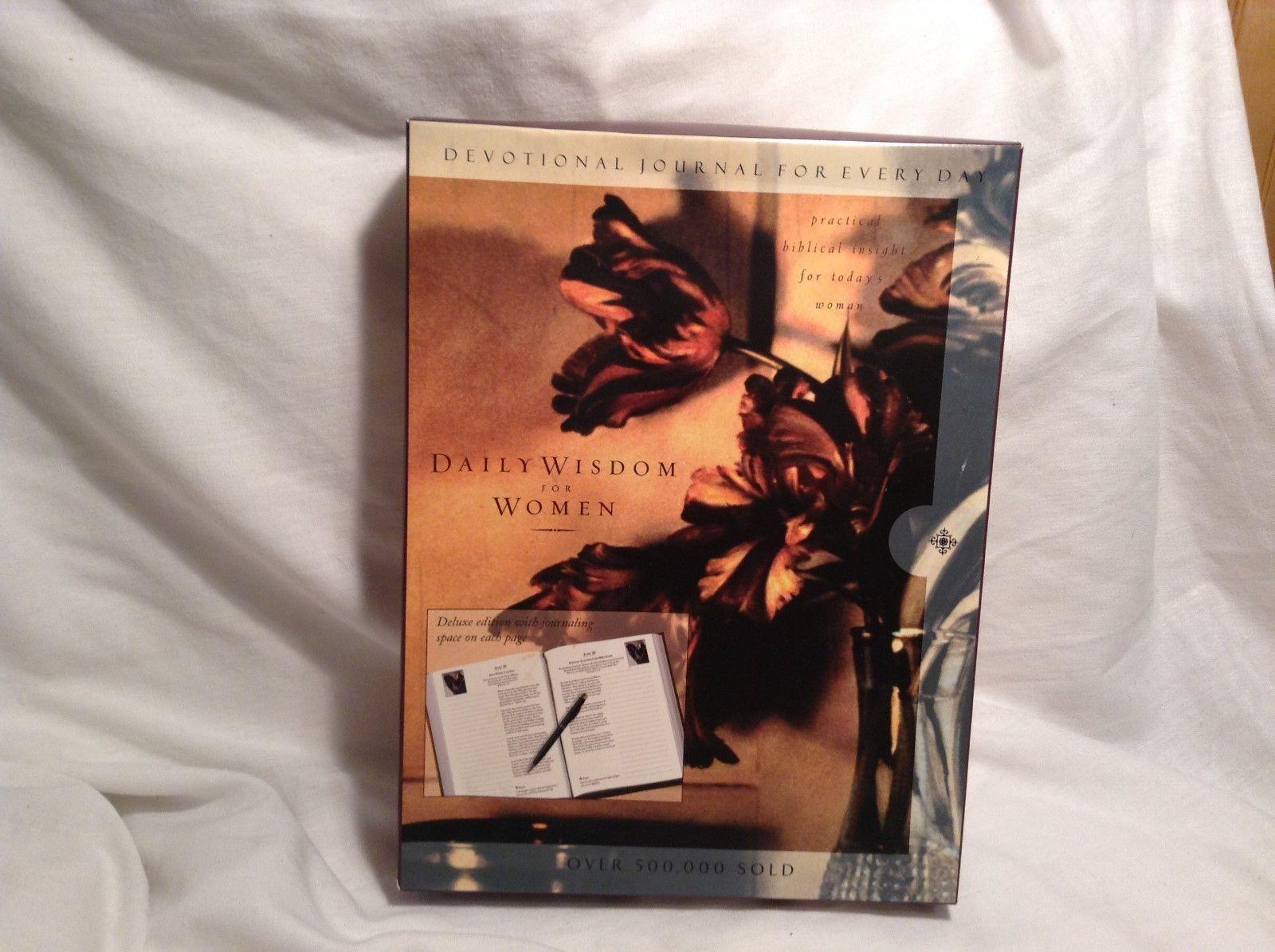 NEW Devotional Journal Daily Wisdom for Women Hardcover Journal