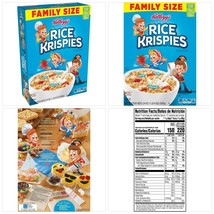 Kellogg's Rice Krispies Breakfast Cereal, Original, Family Size, 24 Oz - $15.89