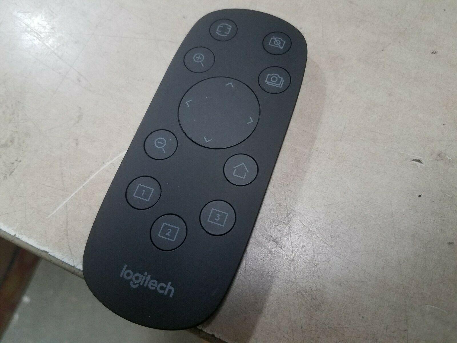 Logitech Remote Control R-R0007  Remote Control - Black