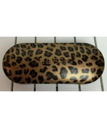 Guess Eyewear Glasses Hard Case Leopard Animal Print Cleaning Cloth Sung... - $24.70