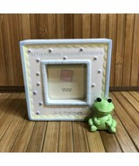 Russ Baby September's Child is a Treasure 3D Frog Picture Frame - $10.00