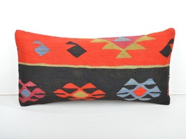 kilim pillow,lumbar kilim pillow,lumbar cushion,kilim cushion,pillow cas... - $55.00