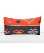 kilim pillow,lumbar kilim pillow,lumbar cushion,kilim cushion,pillow cas... - $55.00