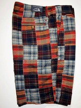 Tommy Hilfiger men's quilted plaid print men's shorts size 34 - $58.50